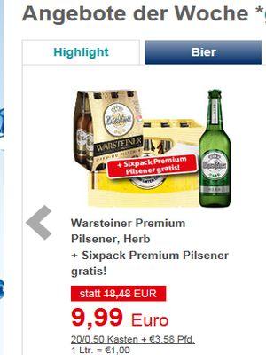 Preishammer Mit Warsteiner Pils Inside Getränke